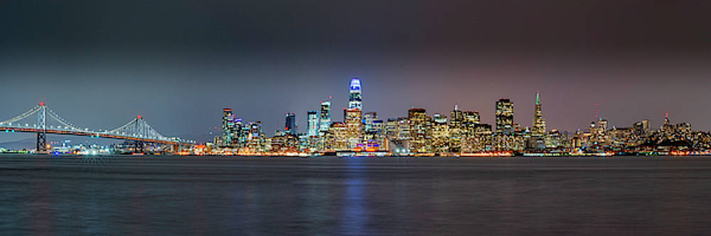 San Francisco from across the Bay by Brian Young