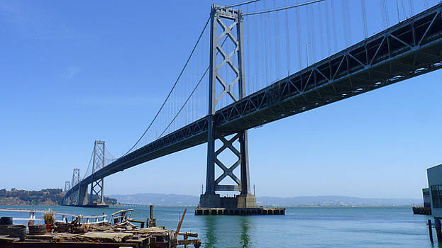 San Francisco - Oakland Bay Bridge by Chris Gill