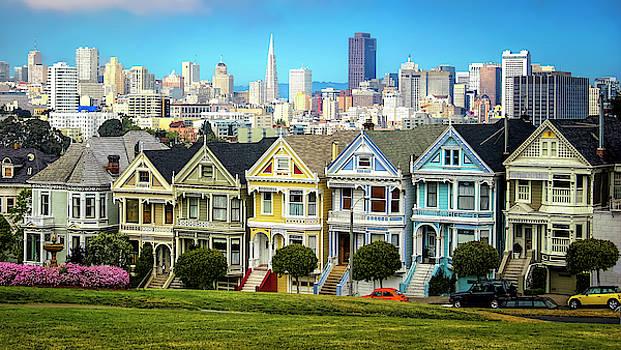 San Francisco Painted Ladies by Daniel Hagerman