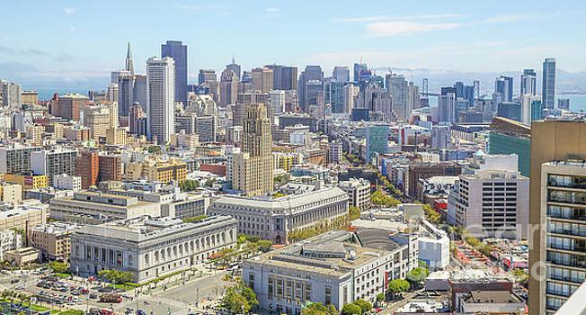 San Francisco Skyline by Eddie Hernandez