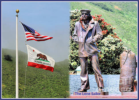 San Francisco's Lone Sailor by Diann Fisher