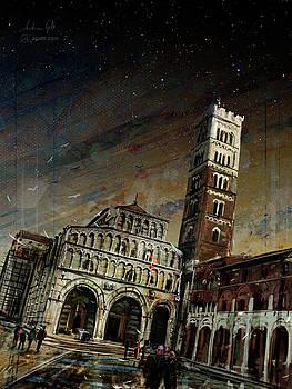 San Martino sera by Andrea Gatti