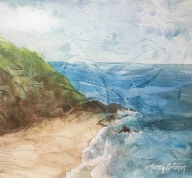 Sandy Cove by Nancy Goldman