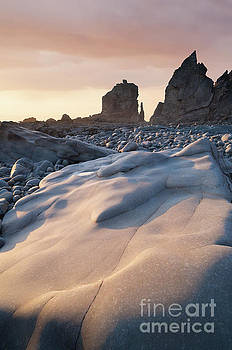 Sandymouth sunset by Colin Roberts