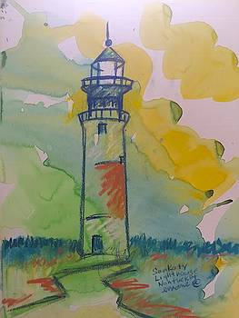 Sankaty Lighthouse  by Elaine Marie