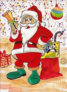 Santa by Ali Muhammad