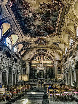 Santa Cecilia in Trastevere by Joseph Yarbrough