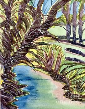 Santa Cruz River by Virginia Vovchuk