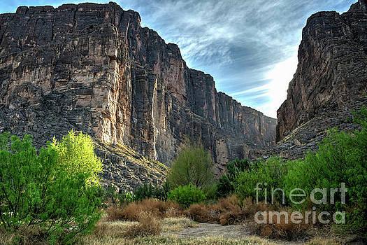 Santa Elena Canyon by Joe Sparks
