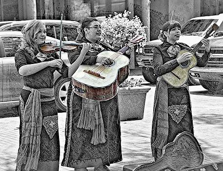 Santa Fe Sounds In Selective Color by Toni Abdnour