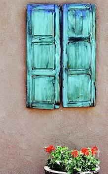 Santa Fe Window by Deb Cawley