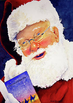 Santa Knows by Brenda Beck Fisher
