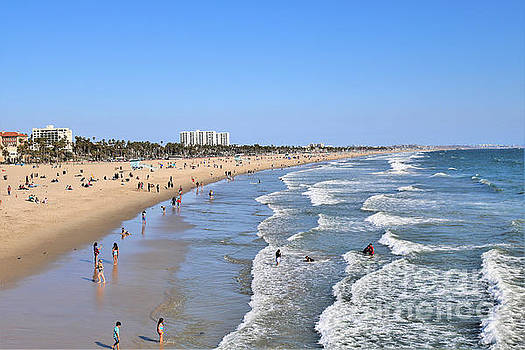 Diann Fisher - Santa Monica Beach to Venice Beach Sand and Surf