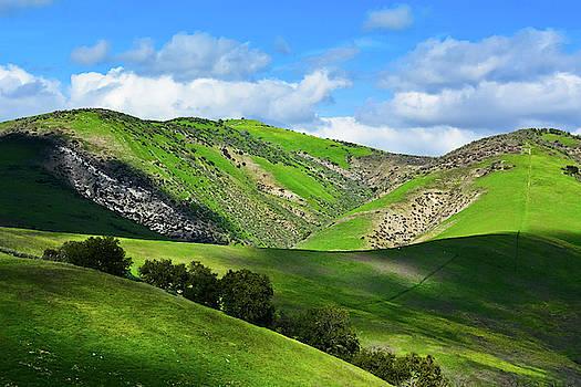 Santa Monica Mountains Green Hills by Kyle Hanson