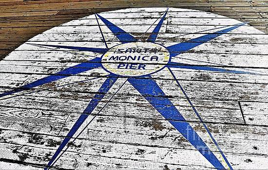 Diann Fisher - Santa Monica Pier Sun Star