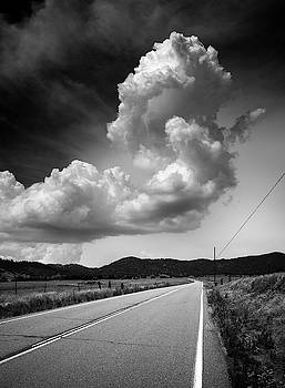 Santa Ysabel Road and Cloud by William Dunigan