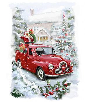Santa's Ride Ii by P.s. Art