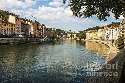 Saone River View by Thomas Marchessault