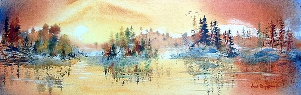 Sarah Lake Sunset by Sarah Guy-Levar