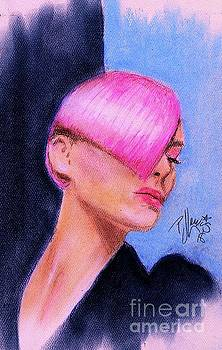 Sassoon style pink by PJ Lewis