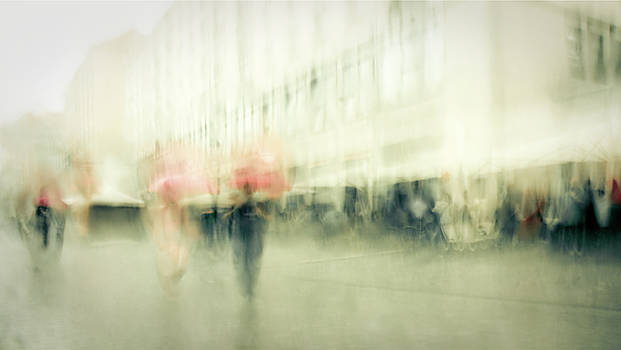 Saturday In Town by Dorit Fuhg