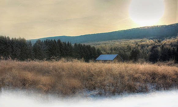 Saturday Morning Frost by Sharon Batdorf