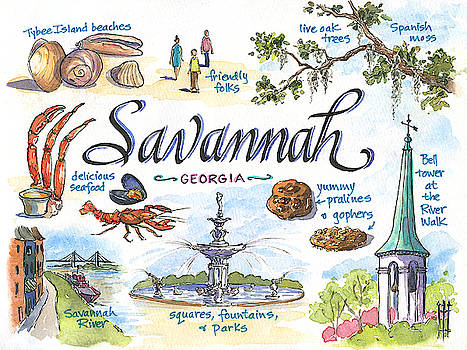 Savannah by Leslie Fehling