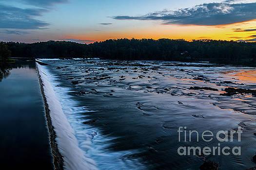 Savannah Rapids Sunrise - Augusta GA by Sanjeev Singhal