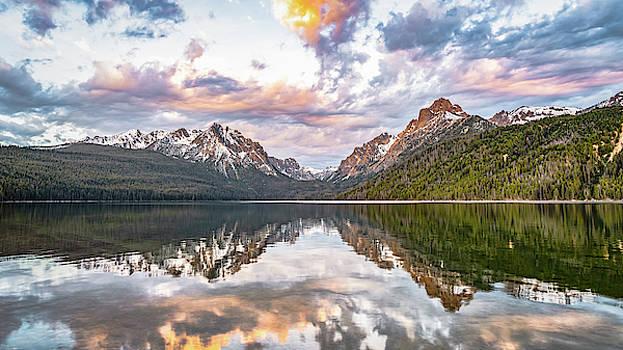 Sawtooth Sunrise by Hamish Mitchell
