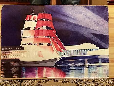Scarlet Sails by Oleg Kozelskiy