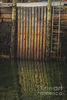 Scenes of a Maine Pier by Elizabeth Dow