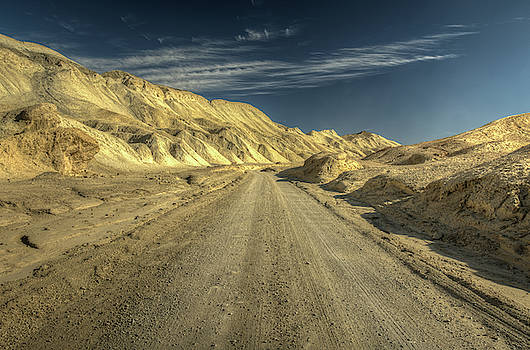 Scenic Drive Through Death Valley National Park by Constance Puttkemery