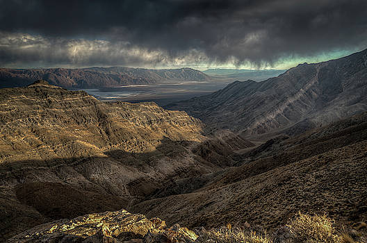 Scenic View of Death Valley from Aguereberry Point by Constance Puttkemery