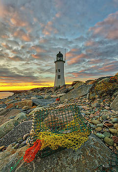 Scituate Lighthouse by Juergen Roth