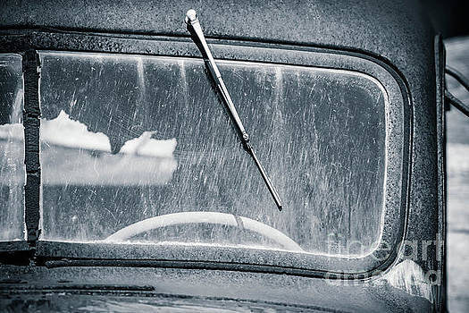 Scratched Car Window by Edward Fielding