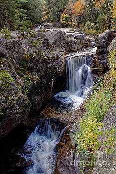 Screw Auger Falls, Maine, USA by Kevin Shields