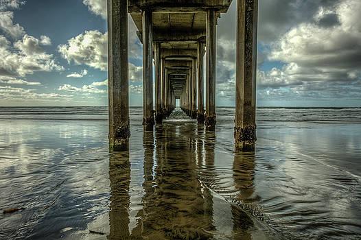 Scripps Pier San Diego by Constance Puttkemery