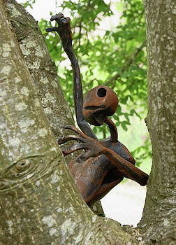 Sculpture In The Tree by Jeff Townsend