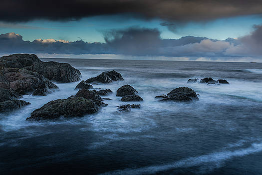 Sea in storm by Kai Mueller