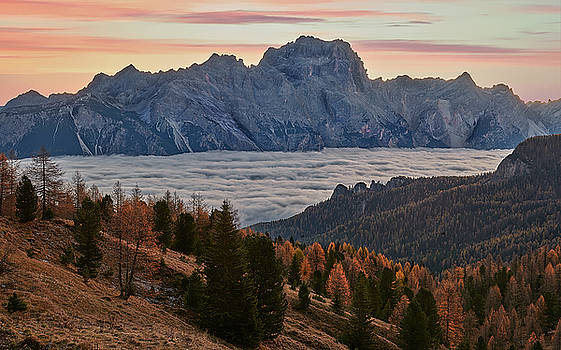 Jon Glaser - Sea of Clouds in the Dolomites