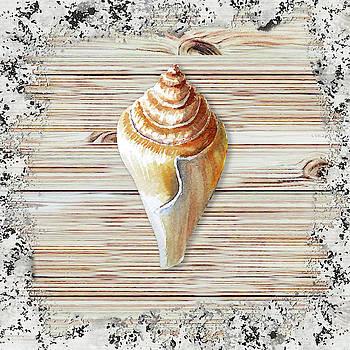 Irina Sztukowski - Sea Shell Beach House Rustic Chic Decor IV