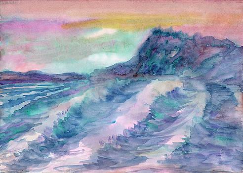 Sea shore by Dobrotsvet Art