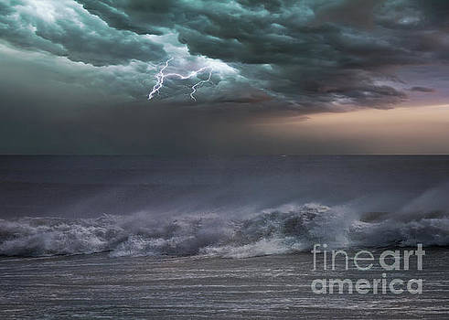 Sea Storm by Kelley Freel-Ebner
