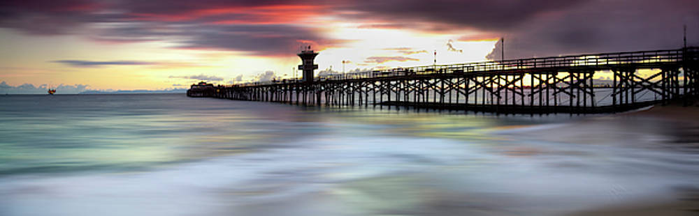 Seal Beach Pier Sunset by Sean Davey