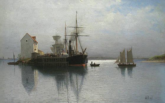 Lev Lagorio - Seascape by Lev Lagorio