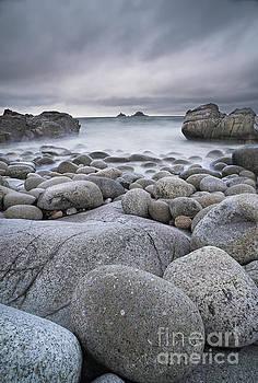 Seascape in granite by Colin Roberts