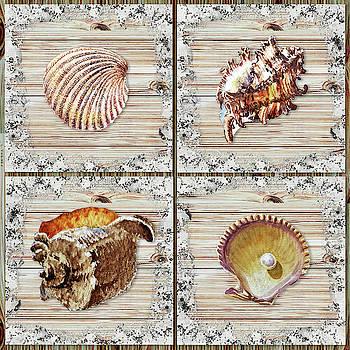 Irina Sztukowski - Seashells Beach House Rustic Chic Collection I