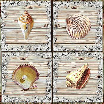 Irina Sztukowski - Seashells Beach House Rustic Chic Collection II