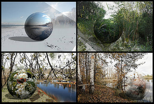 Seasons On The Globe... by Aleksandrs Drozdovs