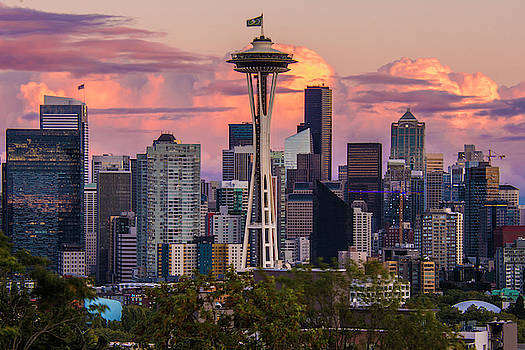 Seattle Cloudscape from Kerry Park by Matt McDonald